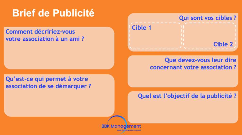 Brief de publicité par BBK Management